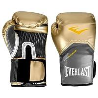 Luva Boxe Elite Pro Style Dourada Everlast - 10oz