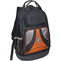 Backpack, Electrician Tool Bag, Tradesman Pro Organizer, 39 Pockets and Molded Base Klein Tools 55421BP-14