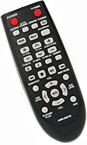 Remote Control Replacement for Samsung AH59-02547B AH59-02612A AH59-02612B HW-H550 HW-H550/ZA HW-H551/ZA HW-H551 HW-E450/ZA HW-E551 HW-E551/ZA PSWF450 AH6802644D00 Soundbar Home Theater System