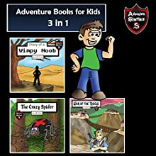 Adventure Books for Kids: 3 Incredible Stories for Kids in 1: Kids' Adventure Stories Audiobook by Jeff Child Narrated by John H Fehskens