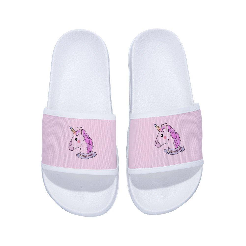 CoolBao Sandals unicorn for Boys Girls Anti-Slip Bath Slippers Shower Shoes Indoor Floor Slipper