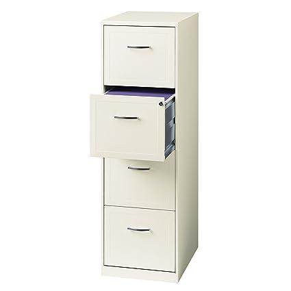Office Dimensions 18u0026quot; 4-Drawer Metal File Cabinet ...  sc 1 st  Amazon.com & Amazon.com: Office Dimensions 18