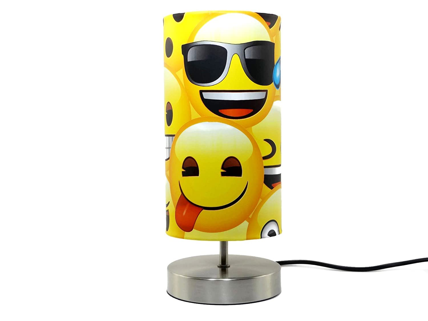 Emoji Lamp Light Lampshade Bedside Table Desk Lamp Bedroom Lamps ...