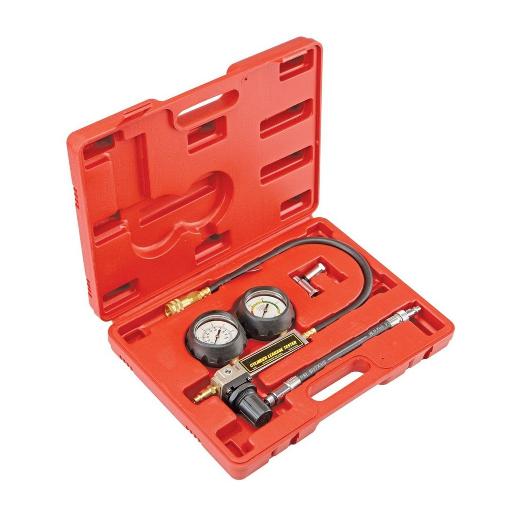 SUPERCRAZY TU-21 Petrol Engine Cylinder Compression Leak Detector Tester Gauge Tool Kit SC0199 SUPER TOOLS
