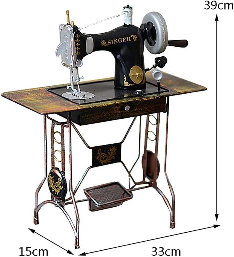 Ornamentos Decorativos Vintage, Máquina de Coser Modelo Hierro ...