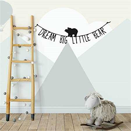Wall Decal Stickers Quotes Saying And Words Diy Dream Big Little