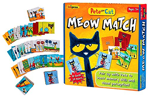 Gift Sets for Kids Pete The Cat Matching Game