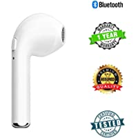 Sketchfab HBQ-i7 in-Ear Wireless Bluetooth Music Earphone Bluetooth V4. 1 + EDR with 1 Connect 2 Function Support Handfree Call for iOS, Android (White)