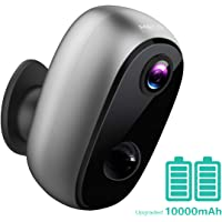 Security Camera Outdoor Wireless, MECO【Upgraded 10000mAh Battery】 WiFi Camera 1080P, Indoor/Outdoor Surveillance Home…