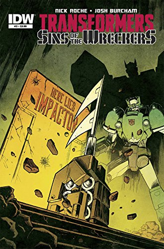 Transformers Sins Of The Wreckers #3 (Of 5) Milne CVR