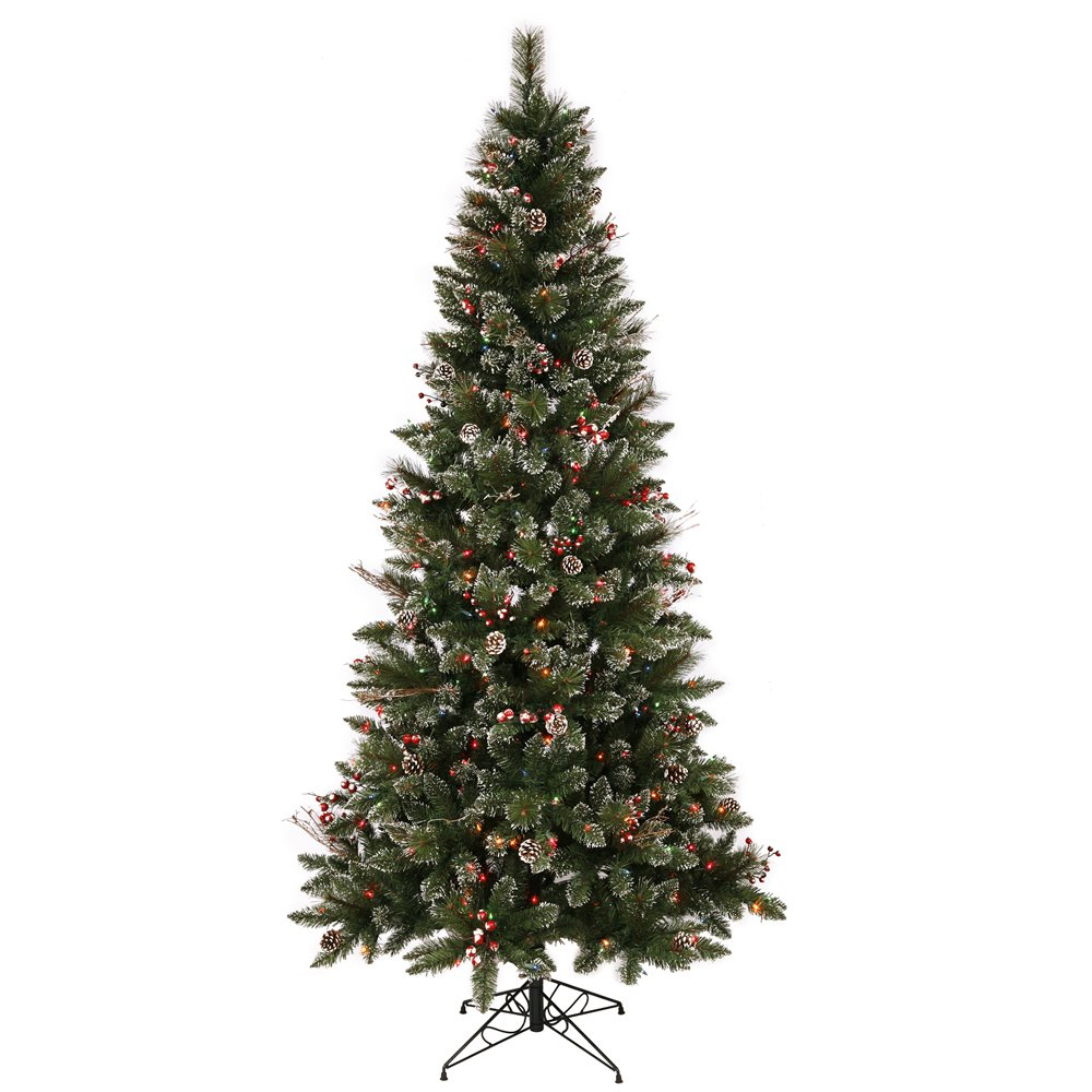 Vickerman Snow Tipped Pine Christmas Tree