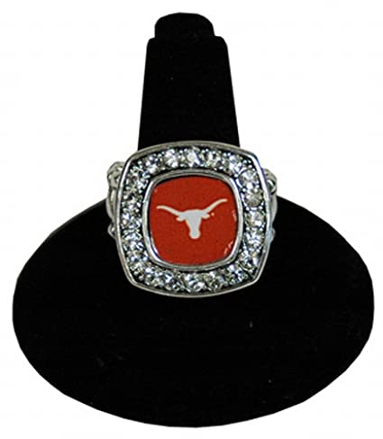 Amazon.com: NCAA Texas Longhorns Anillo: Sports & Outdoors