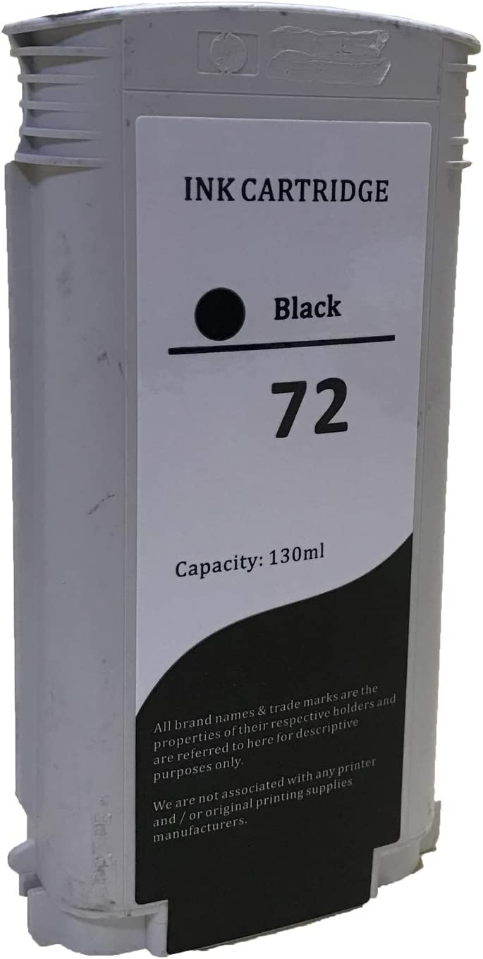 C9370A High-Yield KLDink Remanufactured Ink Cartridge Replacement for HP 72 1-PK Photo Black