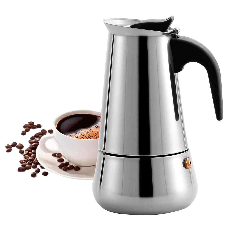 Majalis - Cafetera Espresso para inducción (Acero Inoxidable, para ...