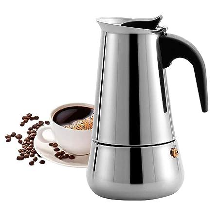 Majalis - Cafetera Espresso para inducción (Acero Inoxidable ...