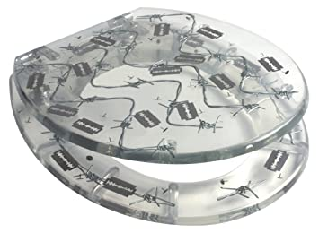 Barbed Wire Toilet Seat. Barbed Wire Resin Toilet Seat  Amazon co uk Kitchen Home