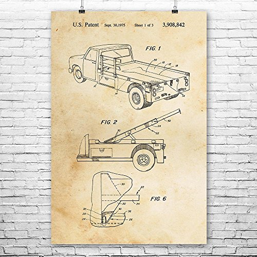 Tow Truck Poster Print, Wrecker Driver Gifts, Truck Driver, Towing Service, Repair Shop, Auto Mechanic, Recovery Vehicle Vintage Paper (8