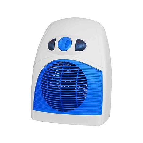 CFG er009 Omer Calefactor ABS gris azul 1000 W 2000 W IP20 calor ajustable Termostato asa
