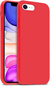 """IceSword iPhone SE 2020 Silicone Case Berry [Upgraded 2nd Generation], iPhone 7/8 (4.7""""), Liquid Silicone Gel Rubber, Full Body Cover, Drop Protection (4.7"""") iPhone 7/8/iPhone SE 2020 - Berry"""
