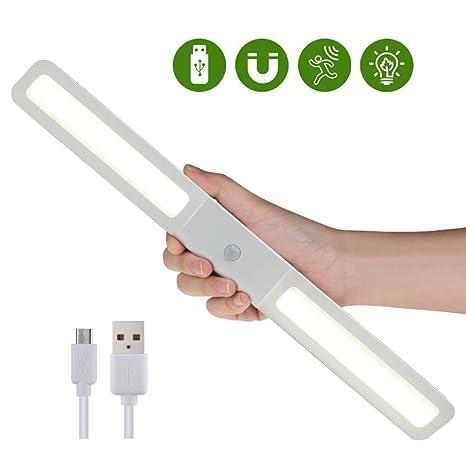 Foco para armario con sensor de movimiento, 20 LED, lámpara de armario con sensor
