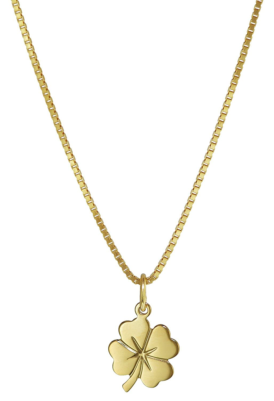 trendor Kleeblatt Anhä nger Gold 333 35922