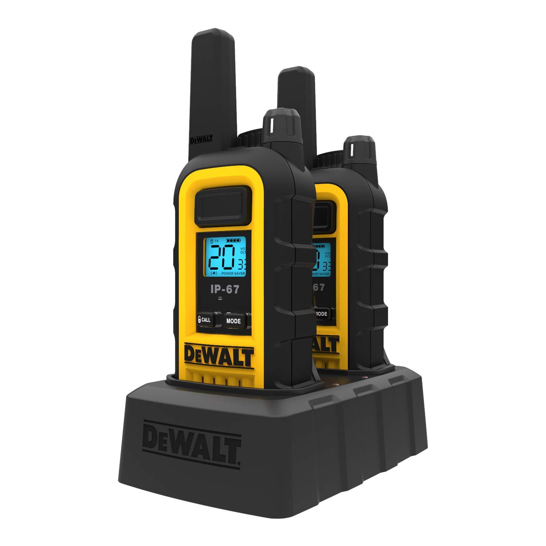 DeWALT DXFRS300 1W Walkie Talkies Heavy Duty Business Two-Way Radios (Pair) by DEWALT (Image #6)