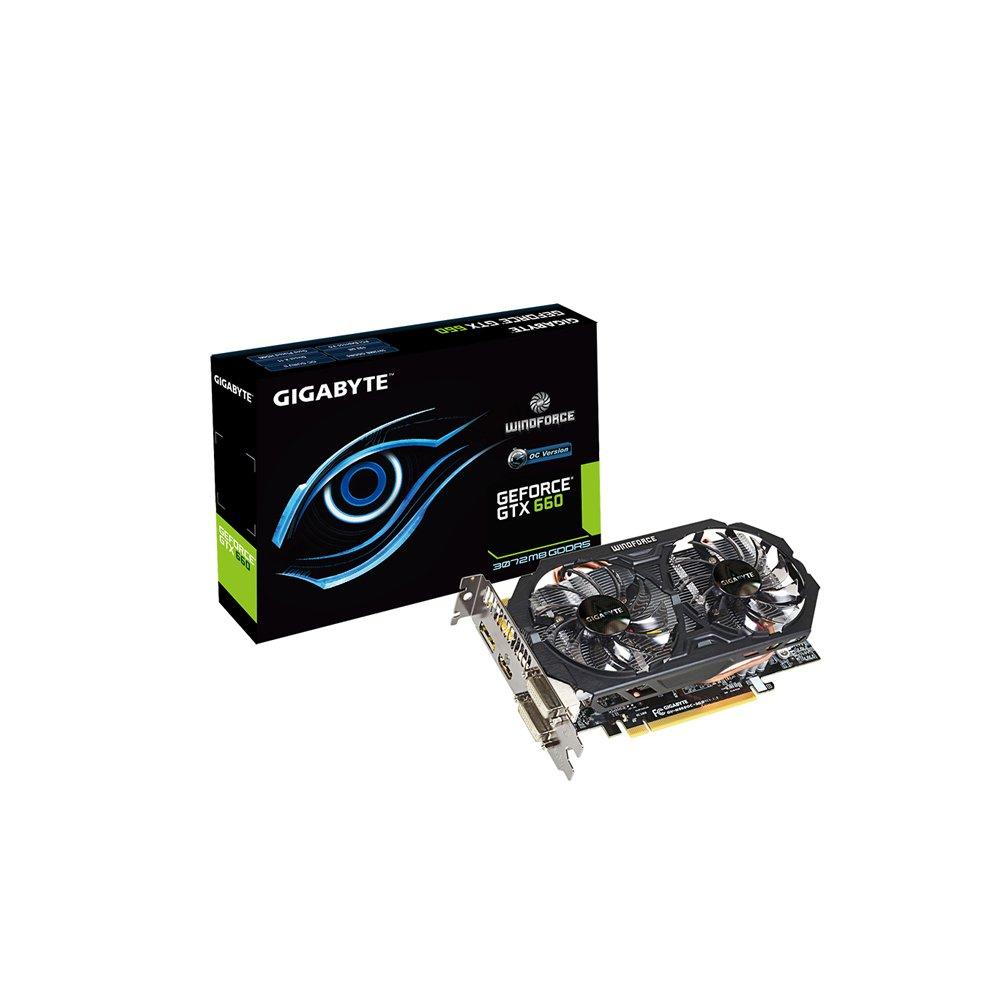 Amazon.com: Gigabyte gv-n660oc-3gd GTX 660 – 3 GB GDDR5 2 x ...