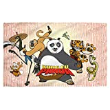 Kung Fu Panda Animated Movie Martial Arts Dreamworks Kung Fu Group Bath Towel