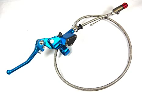 1E Palanca de embrague hidráulico Master Cilindro Dirt Bike SDG SSR 107 110 125 azul lv08