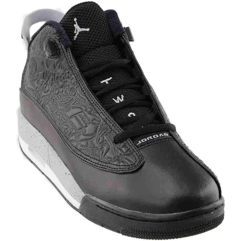 Jordan Air Dub-Zero B01M7491M8 5.5 M US Big Kid|Black/Wolf Grey/White