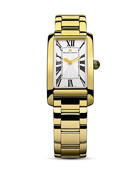 Reloj de cuarzo Maurice Lacroix Fiaba Rectangular Oro 18Kthttps://amzn.to/33xKq4B