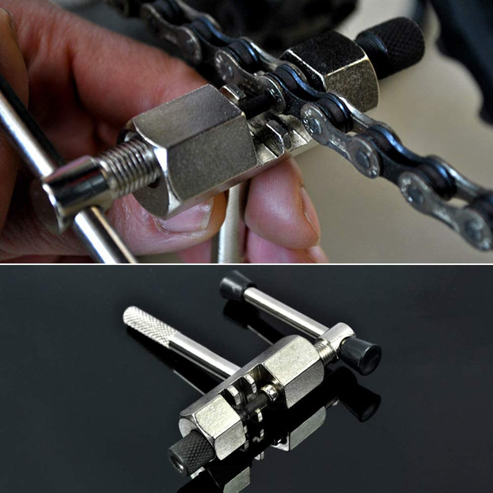Herramienta de reparación para bicicleta, herramienta de reparación de accesorios de ciclismo, fácil de usar para bicicleta de montaña por Lai-LYQ: Amazon.es: Bricolaje y herramientas