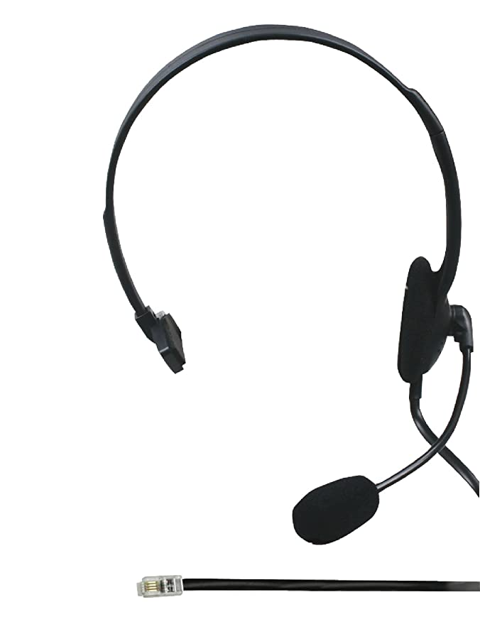 Konig Headset With Telephone Connection Amazon Co Uk Computers