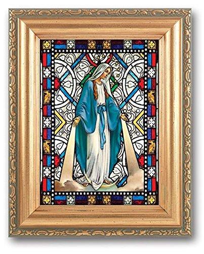Nuestra Señora de gracia con textura italiano arte cristal en ...