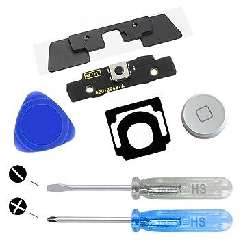 MMOBIEL Repuesto Botón de Inicio para iPad 2/3 9.7 Pulgadas (Blanco ...