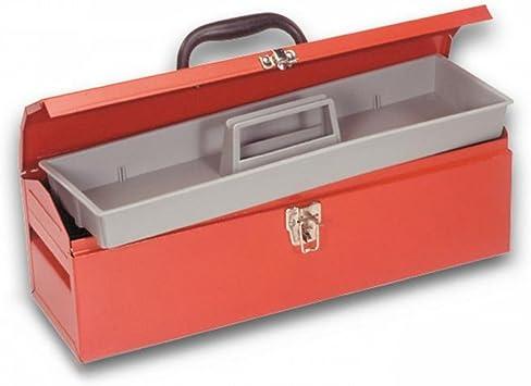 Caja Porta Herramientas de metal de taller 484 x 154 x 165 mm de ...