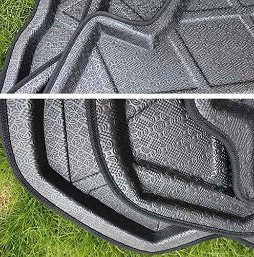 almohadillas de maletero de coche Alfombrillas delanteras para Koleos 2017 2018 2019 Coches nuevos 1PCS cola almohadillas