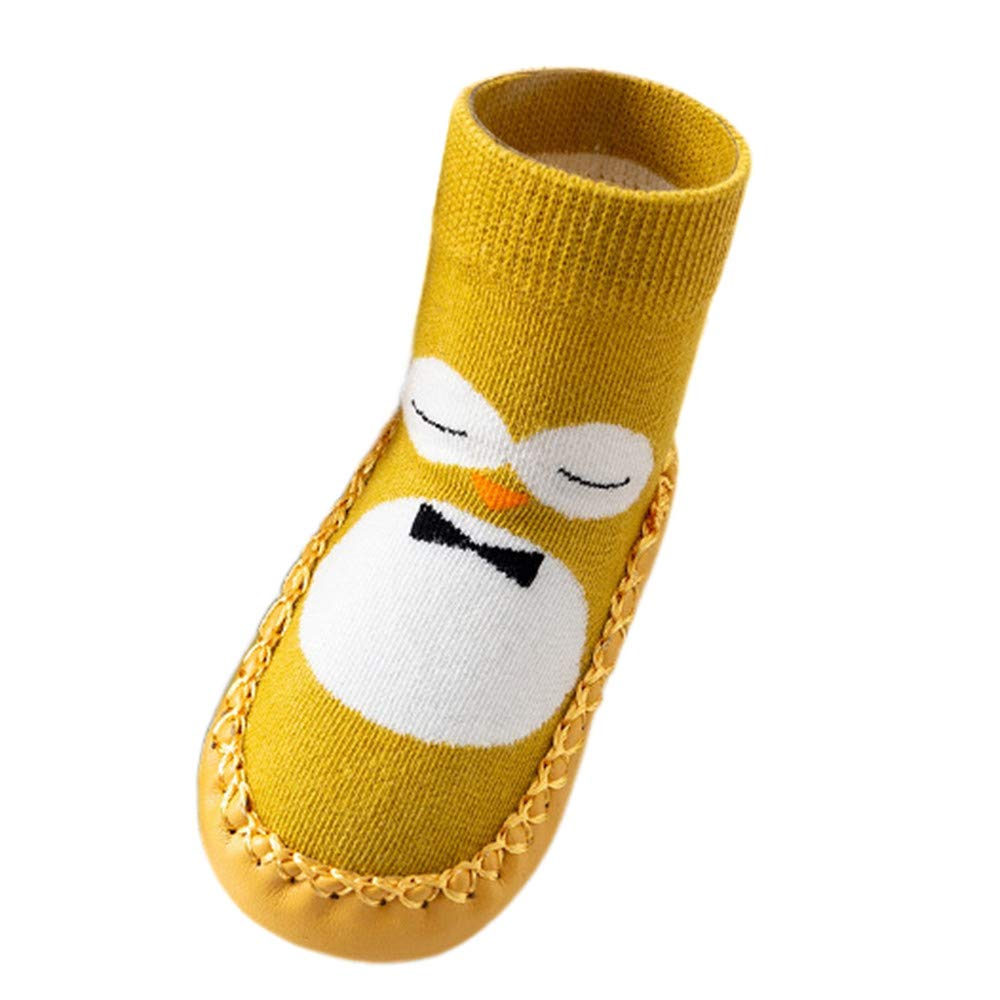Londony /♥‿/♥ Baby Toddler Girls Boys Anti-Slip Cartoon Slipper Shoes Boot First Walkers Floor Socks Suit for 0-4 Years Old