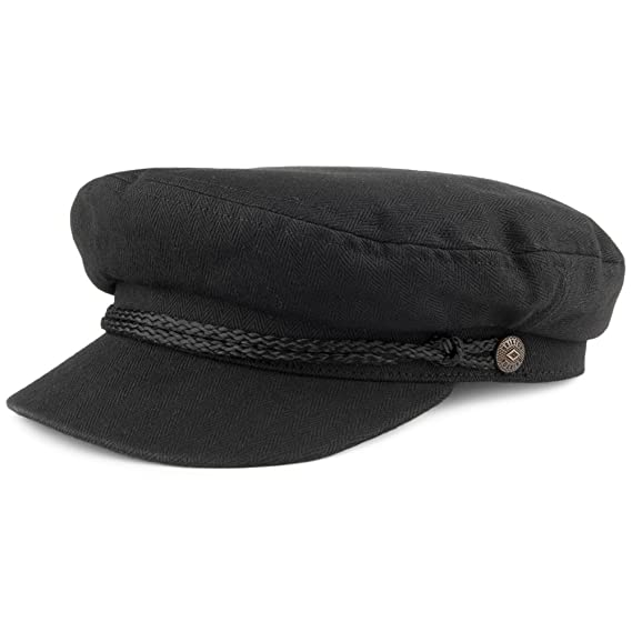 Brixton Hats Fiddler Cap - Black  Amazon.co.uk  Clothing 764d2753aca