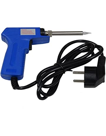 AERZETIX: Soldador de hierro pistola 220V 30W-130W para soldadura electrónica C3237