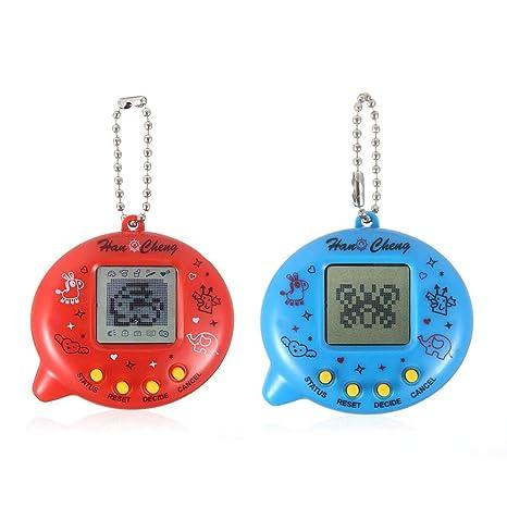LayOPO Electronic Pets - Llavero Digital para Mascotas con ...
