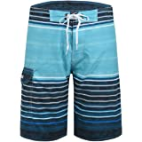 Nonwe Men's Quick Dry Wave Pattern with Mesh...