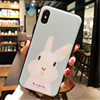 BONTOUJOUR iPhone 7 case iPhone 8 Cover Case Super Cute Cartoon Animal Pattern Soft TPU Bumper Hard PC Back Cover for…