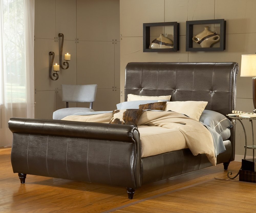 Amazon.com: Hillsdale Furniture 1602BQR Fremont Bed Set with Rails ...