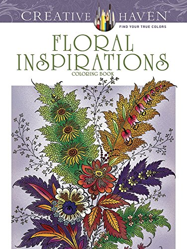 Creative Haven Floral Inspirations Coloring Book (Adult Coloring) [F. B. Heald] (Tapa Blanda)