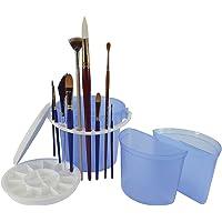 Art Advantage Bucket Brush Cleaning Basin, Blue