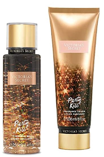 Victorias Secret Party Kiss Fragrance Mist and Body Lotion Set
