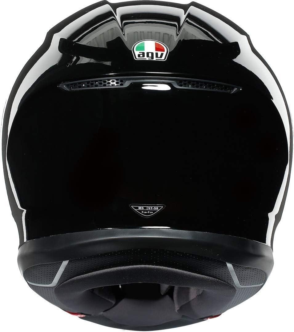 AGV CASCO K6 ECE SOLID MPLK BLACK ML