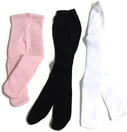 """Black Pink /& White Tights made for 18/"""" American Girl Doll Clothes Accessories"""