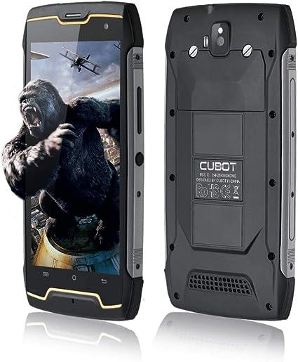 CUBOT King Kong IP68 Móvil Libre Impermeable 3G Smartphone 5.0 Pulgadas Android Dual SIM Quad-Core 13,0MP Cámara 2GB+16GB CUBOT Oficial: Amazon.es: Electrónica